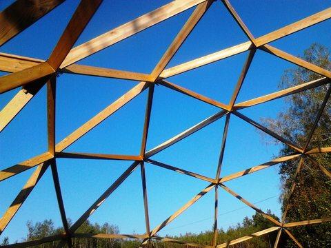 Купольный дом - каркас - Фото 5