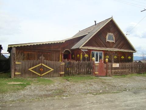 Продам деревянный одноэтажный дом из бруса в с. Усть-Кокса - Фото 1