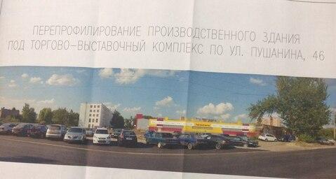 Сдаю в аренду торговые площади по ул. Пушанина 46 - Фото 1