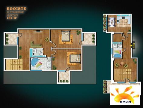 Ялта, двухуровневая квартира, современный дом, 253м2 - Фото 2