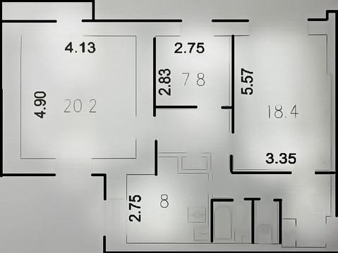 Обмен на двухкомнатную квартиру - Фото 2