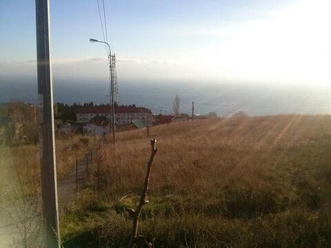 Продам земельный участок 1,18 га, Ялта, пос. Парковое. Вид на море. - Фото 1