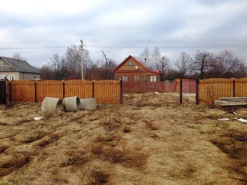 Участок 12 соток со срубом в п.Дорохово, Рузский район, 70 км. от МКАД - Фото 3