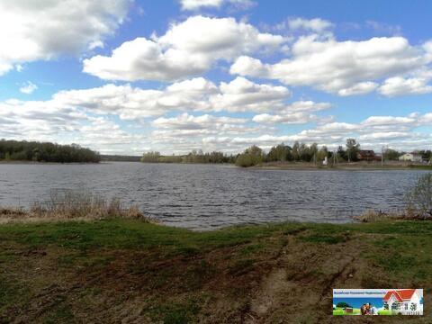 Участок 25 соток на берегу озера, д. Константиново, 98 км от МКАД. - Фото 2