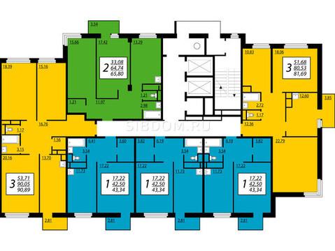 Продам трехкомнатную квартиру Преображенский 15