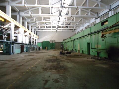 Производственное помещение 2400 м2 ( кран-балки 10 тон) - Фото 2