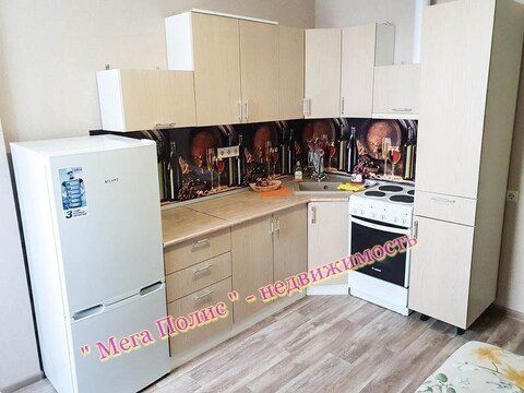 Сдается впервые 1-комнатная квартира 38 кв.м. в новом доме ул. Ленина - Фото 1