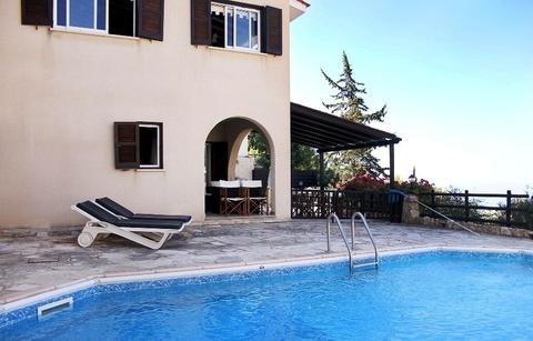 Замечательная 3-спальная Вилла с панорамным видом в пригороде Пафоса - Фото 3