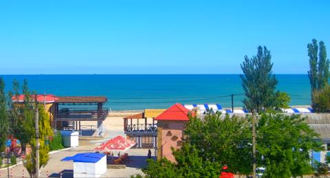 Пол дома в Геническе с видом на море. - Фото 1