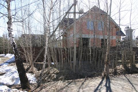Продам дом недострой 220 м на участке 10 сот, Истринский р-н, Борки-3 - Фото 3