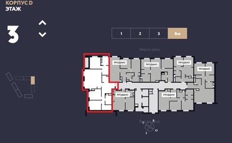 """ЖК """"Only""""-апартамент 104кв.м. с отделкой,3 спальнями и кухней-гостиной - Фото 4"""
