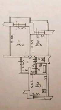 Продажа 2-х комнатной квартиры на Коровникова, дом 4 корп 1 - Фото 3