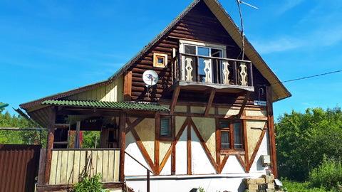 Продам теплый деревянный дом 100м2 в Заокском р-не, возле д.Новоселки - Фото 4