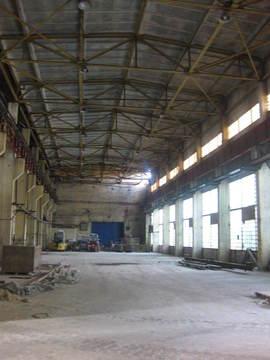 Склад-производство 780м2 + офис 50м2, h-13м в Стрельне - Фото 1