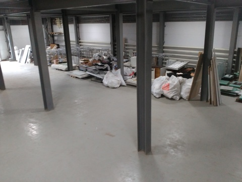 Отапливаемый склад 1100 кв.м,2 ворот - Фото 1
