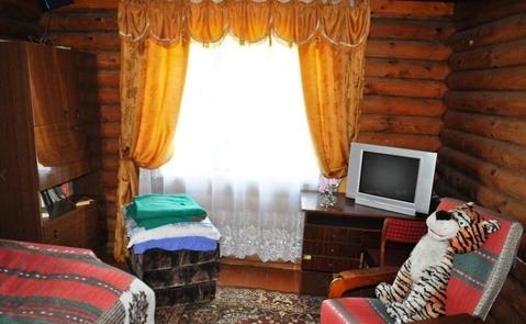 Дача бревенчатая 55 кв.м. на 9 сот в СНТ Шелковик-3 - Фото 3
