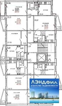 2 комнатная квартира, Уфимцева, 3а - Фото 3