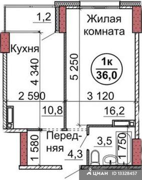 Продаю1комнатнуюквартиру, Барнаул, Пролетарская улица, 163, Купить квартиру в Барнауле по недорогой цене, ID объекта - 321944512 - Фото 1