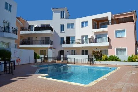 Отличный двухкомнатный Апартамент недалеко от моря в Пафосе - Фото 2