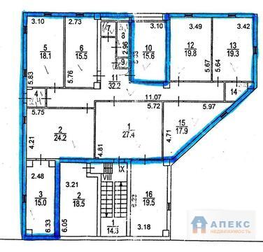 Аренда офиса 200 м2 м. Калужская в административном здании в Коньково - Фото 3
