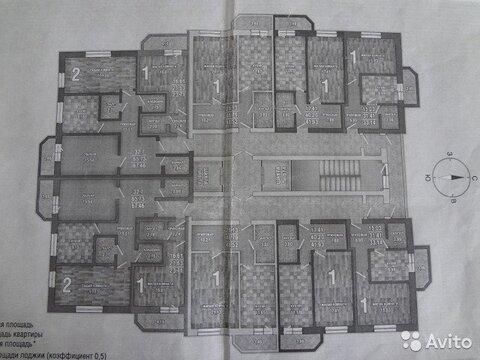 1-к квартира, 49 м, 5/18 эт. - Фото 2