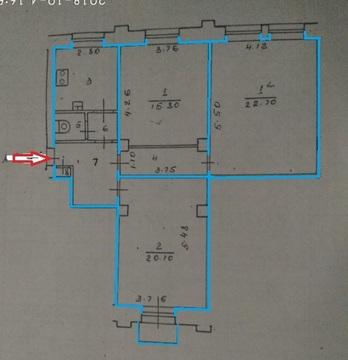 Продам 3-комн квартиру ул.Белинского,6 - Фото 2