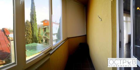 Просторная 2к квартира с видом на море в клубном доме в центре Ялты - Фото 3