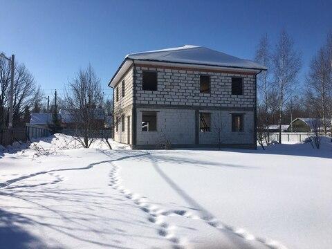 Продается 2-х этажный дом 230 кв.м.(недострой) на участке 10 соток(фак - Фото 3
