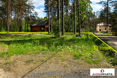 Уникальный участок 11 соток в п.Кузьмоловский - Фото 3