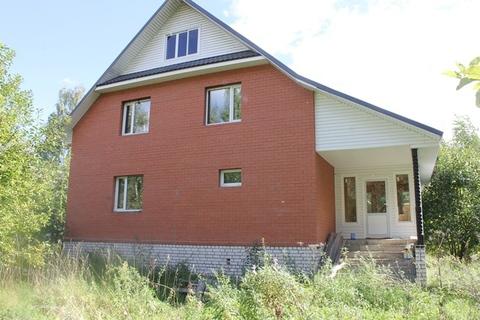 Продаю новый дом, земельный участок 30 соток в д.Селищи - Фото 1