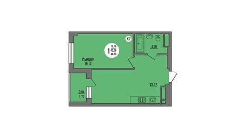 Продажа квартиры, Пенза, Ул. Антонова, Продажа квартир в Пензе, ID объекта - 325994189 - Фото 1