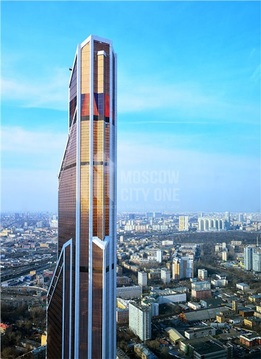 Апартаменты в Башне Меркурий 201.7 м2 46 этаж - Фото 2