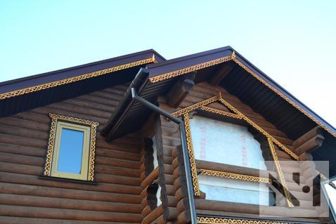 В продаже дом 90 м2 с резными деталями на уч. 8 сот. вблизи Питера - Фото 2