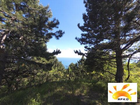 Продажа земельного участка в Алупке с видом на море и горы. - Фото 3