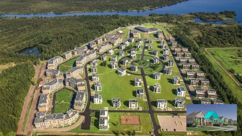 Продается 1 комнатные апартаменты в Приморском районе, МФК Лахта парк - Фото 1