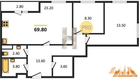 Продажа квартиры, Хотьково, Сергиево-Посадский район, Ул. Михеенко - Фото 1