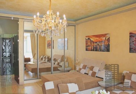 Купить квартиру с дизайнерским ремонтом в ЖК Мономах, район Сокол - Фото 1