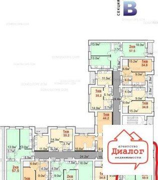 Продам - 2-к квартира, 62м. кв, этаж 10/14 - Фото 3