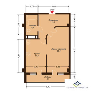 Продам двухкомнатную квартиру Елькина ,88а, 58кв.м.11 эт, цена 2900т.р - Фото 3