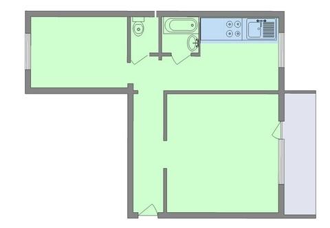 Квартира, ул. Российская, д.47 к.А - Фото 2