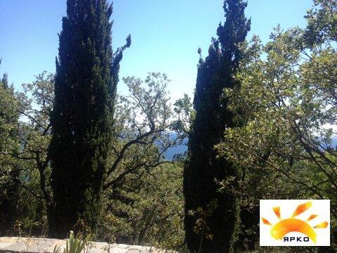 Участок на берегу моря в г. Алупка с красивым видом, рядом парк - Фото 5
