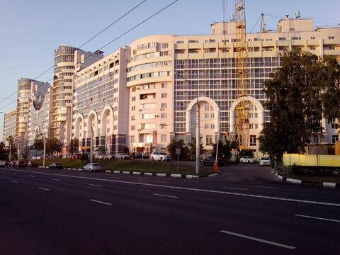 2 комнатная современная квартира, Ленинский проспект, д. 96а. - Фото 1