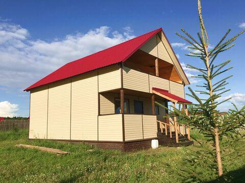 Деревяный загородный дом из бруса - Фото 1