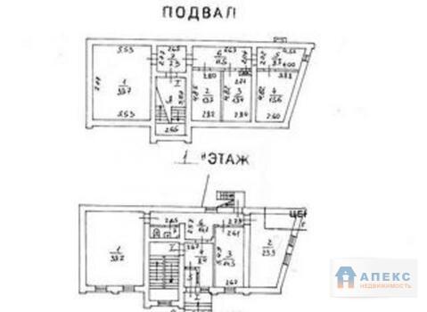 Аренда офиса 664 м2 м. Пушкинская в особняке в Тверской - Фото 2