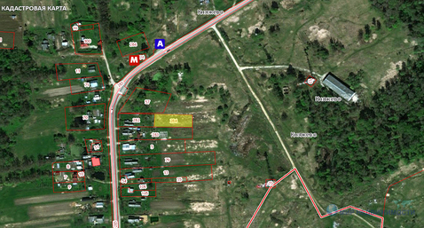15 соток без строений в деревне Княжево Волоколамского района МО - Фото 2