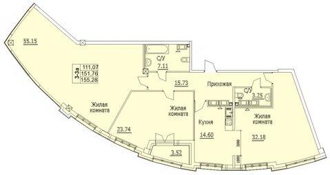 Продам 3к. квартиру. Пионерская ул, д.50 к.3-2, Купить квартиру в Санкт-Петербурге по недорогой цене, ID объекта - 317901756 - Фото 1
