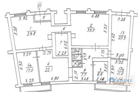 Продажа магазина пл. 185 м2 м. Парк Победы в жилом доме в Дорогомилово - Фото 2
