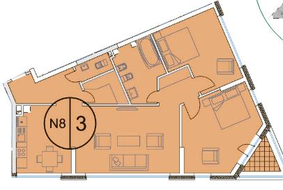 Продается двухкомнатная квартира Щербаковский пер.7 рядом с метро - Фото 3
