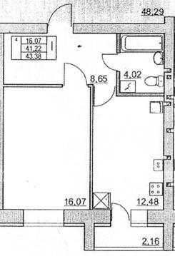 1 или 2 ком.квартиры в новом доме по ул.Вермишева - Фото 2