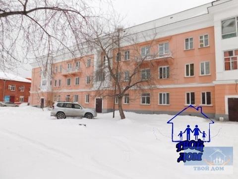Продам 2 комнаты 30 м2/доля в 3-к. квартире, Новосибирск, Ползунова, 3 - Фото 1